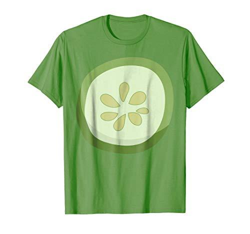 Cucumber T-Shirt Funny Food Vegetable Halloween Costume Tee