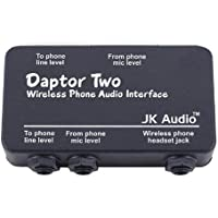 JK Audio Daptor 2 (DAP2) Wireless Phone Audio Interface for use with Cell / Cordless Phones