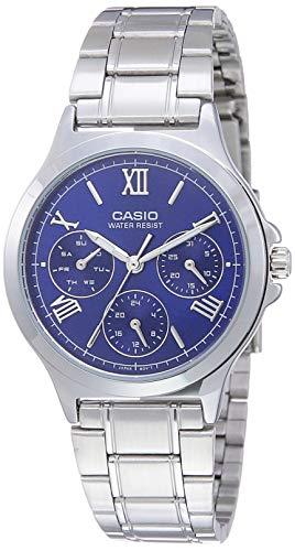 Casio Enticer Ladies Analog Blue Dial Women #39;s Watch LTP V300D 2A2UDF A1695