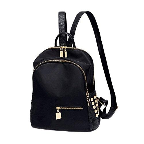 donna Zaino nero PU 15 30 New nero cm Jinfang grande Poke numero casual borsa fashionFashion tracolla borsa Tote 31 a Niu t5twqg
