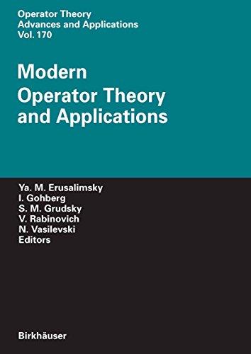 (Modern Operator Theory and Applications: The Igor Borisovich Simonenko Anniversary Volume (Operator Theory: Advances and Applications Book 170) )