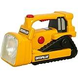 Toy State Caterpillar Construction Flash Light And Night Light: Bull Dozer