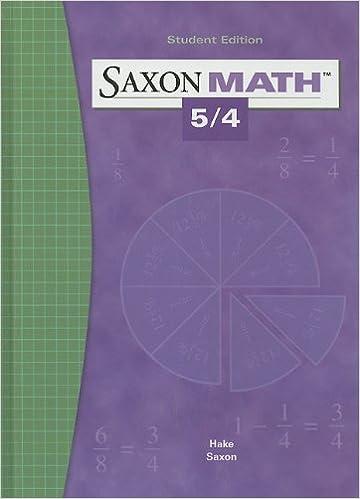 Saxon math 54 saxon publishers 9781565775039 amazon books saxon math 54 1st edition fandeluxe Gallery
