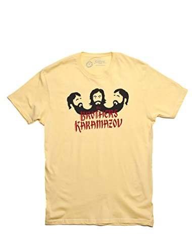Price comparison product image Out of Print Men's The Brothers Karamazov T-Shirt Small Banana Cream