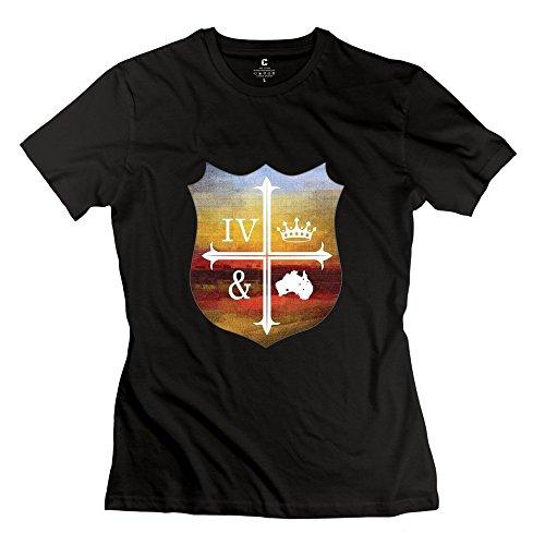 HUIMIN Women's For King & Country T-shirt M