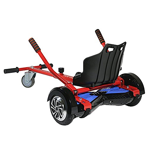 Cool Mini Kart Hoverboard Accessories for Adjustable -All Heights- All Ages- Self Balancing Scooter -Compatible with All Hoverboards (Not Included Balance Board) (Kart Car Mini)