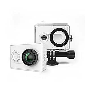 YI Action Camera with Waterproof Case White