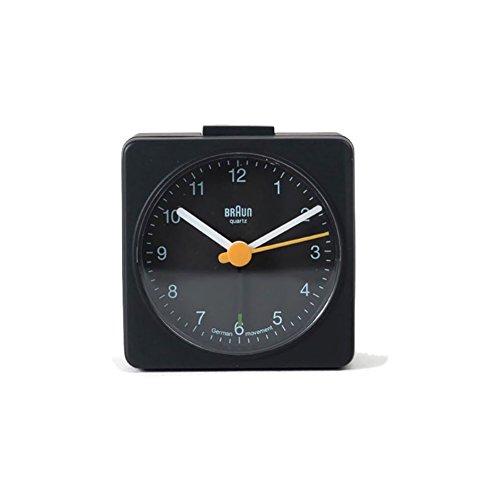 Braun Square Travel Alarm Clock One Size Black