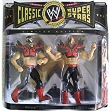 WWE Limted Edition Classic Super Stars Legion of Doom Two Pack - The Road Warriors Hawk & Animal by Jakks Pacific
