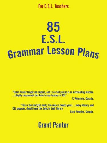 85 Esl Grammar Lesson Plans