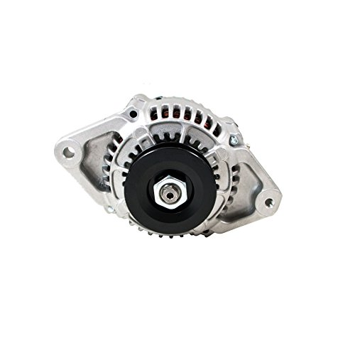 Top Street Performance ES1004 Satin Finish 90 Amp Racing Alternator (1 Wire) ()