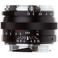 Zeiss Normal 50mm f/1.5 C Sonnar T* ZM Manual Focus Lens for Zeiss Ikon and Leica M Mount Rangefinder Cameras - Black