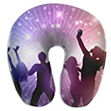 U-Shaped Neck Pillow Dance Pillows Soft Portable for Travel Reading Sleeping