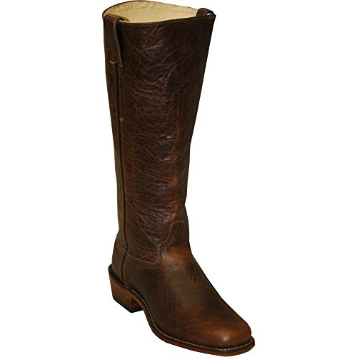 Abilene Men's Cowhide Shooter Boot Square Toe Brown 10 EE Abilene Boots