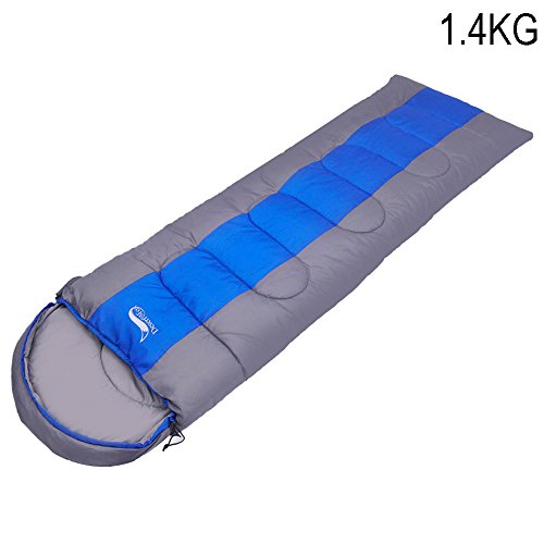 Truewon Outdoor Envelope Camping Sleeping Bag for Travel Hiking Multifuntion Cold Weather