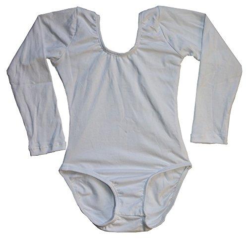Lovelyprincess Girls Classic Dance Short Sleeve Leotard,Black,Size for 5T Girls
