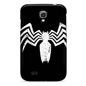 Durable Hard Phone Covers For Samsung Galaxy S4 (Heo8834DdbH) Customized Colorful Venom Skin