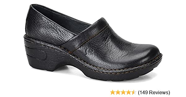B.o.c Born Concept Womens Clogs Black Size 6 Selected Material Comfort Shoes Women's Shoes