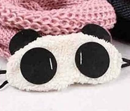 Oso Panda Ojos Dormir máscara gafas (Panda ojos)