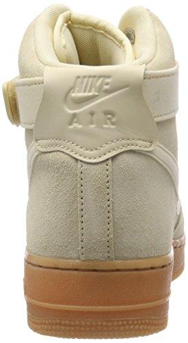 Nike Men's Air Force 1 High '07 Lv8 Suede Gymnastics Shoes, Muslin, Muslin-Gum Med Brown Mehrfarbig (Muslin/Gum Med Brown/Ivory)