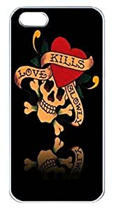 Customize Cartoon iPhone 5/5S Case for iPhone 5/5S Hard Cover Lovely Kills Cartoon Fits Case