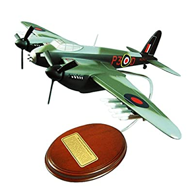 Mastercraft Collection de Havilland DH.98 Mosquito Cookie Bomber World War II Royal Air Force Plane Airplane Military Aircraft Fighter Model Scale:1/54