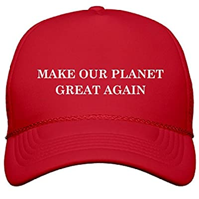 Let's Make The Planet Great Again: OTTO Solid Color Snapback Trucker Hat