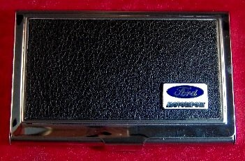 (FORD MOTORSPORT - CUSTOM BUSINESS CARD CASE )