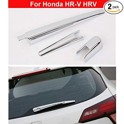 New Chrome Rear window wiper cover trim Decorate For Honda HR-V HRV Vezel 2015 2016 2017 2018 2019 YongChao