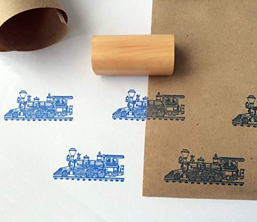 Steam Locomotive Stamp 1