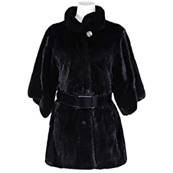 Costa Black Fur Norfolk Jacket For Women
