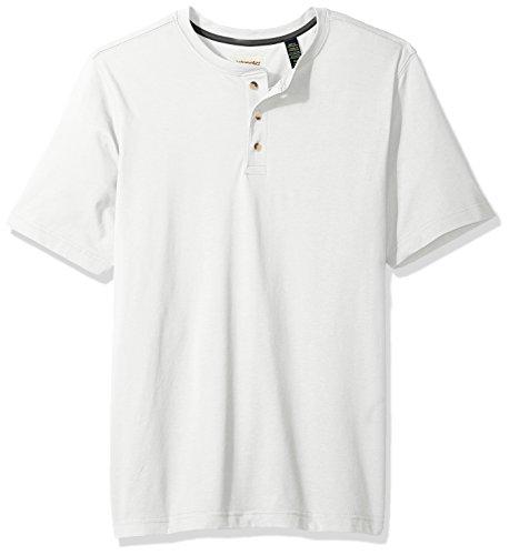 - Wrangler Authentics Men's Big & Tall Short Sleeve Henley Tee, Bright White, 2XL