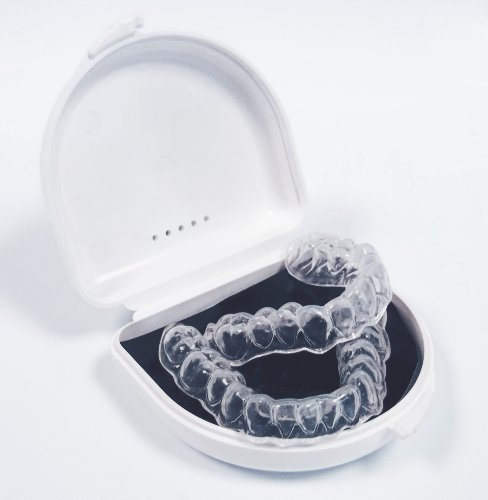 One Upper and One Lower Armor Guard Custom Professional Dental Day and Night Pro-form Mouth Guards for Teeth Grinding (Bruxism), Clenching, Retainer and Multi Symptom Relief by Armor Guard
