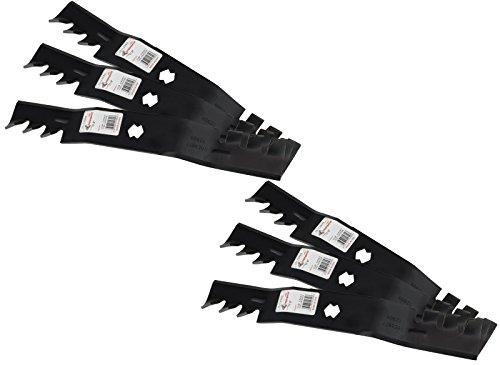 "Cub Cadet Series (6 Rotary® Copperhead Mower Blades Fit Cub Cadet® RZT50 Series 742-04053 742-04053A Toro® 50"" GT2100 MTD® 13AA625P004)"