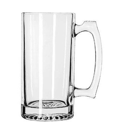Libbey Glassware 5272 Sport Mug, 25 oz. (Pack of 12)