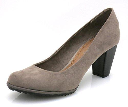 Dolce Vita Scarpe da donna scarpa da signora Scarpe con zeppa 5318 -  grigio 41b03a0390e