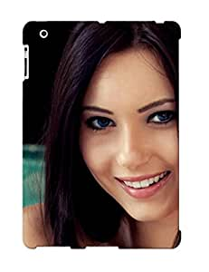 New Arrival Woman Girl Beauty Brunee Natasha Belle For Ipad 2/3/4 Case Cover Pattern For Gifts