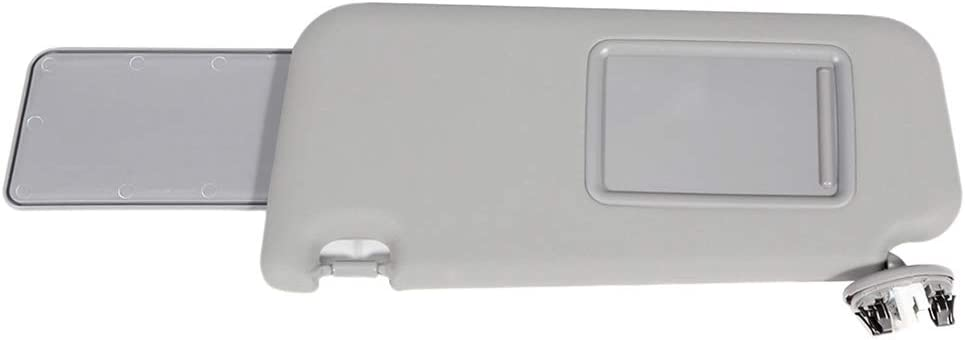 OE: 74320-42501-B3,74320-42500-B3,74320-42501-B2 SCITOO Gray Left /& Right Interior Sun Visor fit for for Toyota RAV4 2006-2013 with Sunroof