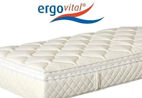 ergovital Swiss Plus® Premium - Colchón de Espuma fría H2, tamaños colchones: 80 x 200 cm: Amazon.es: Hogar