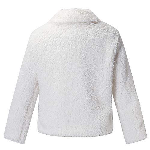 Lunga Casuale Outwear Donna Autunno Vicgrey Sintetica Coat Parka Caldo ❤ Manica Bianco Giacca Cappotto Donna Inverno Pelliccia RIqzSTPqwp