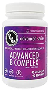 Advanced Orthomolecular Research AOR Advanced B Complex Capsules, 90 Count