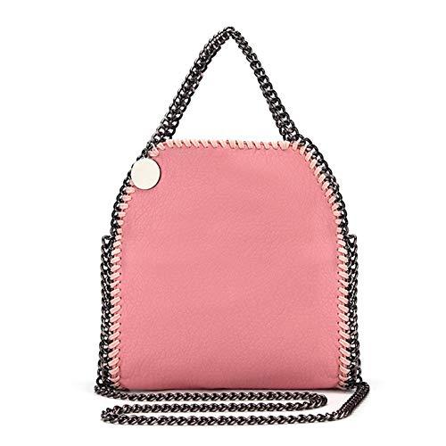 d0db5e227b HITSAN INCORPORATION NIGEDU Soft PU leather women Handbag stella chain  Crossbody bag luxury design Ladies fold