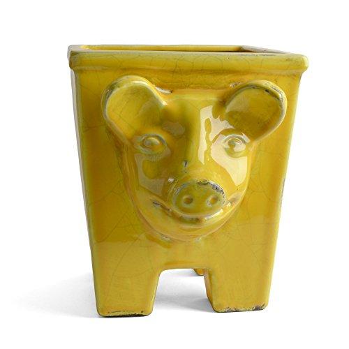 napa-home-garden-large-piggy-planter-yellow