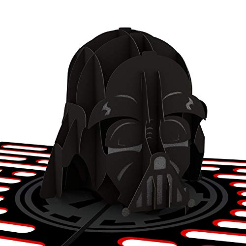 Lovepop Star Wars Darth Vader Pop Up Card, 3D Card, Father's Day Card, Birthday Card, 3D Greeting Card, 3D Pop Up, Star Wars Card