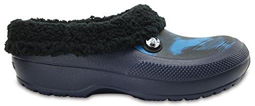 crocs Unisex-Erwachsene Classic Blitzen Iii Graphic Clogs Blue Jeans