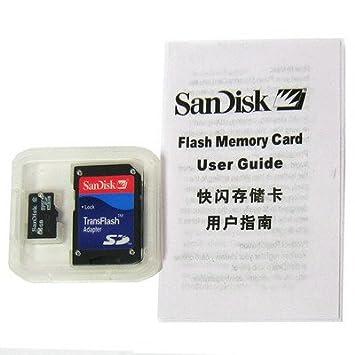 Tarjeta de memoria MicroSD (TransFlash) alta velocidad 4 GB ...
