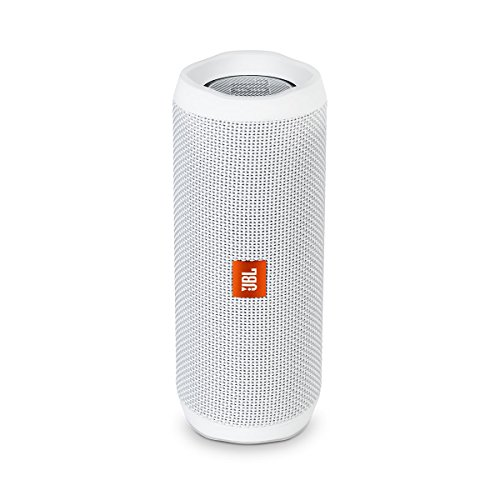JBL FLIP 4 White Flip4 Bluetooth Speaker ()