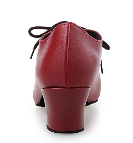TDA - salón mujer negro/ rojo