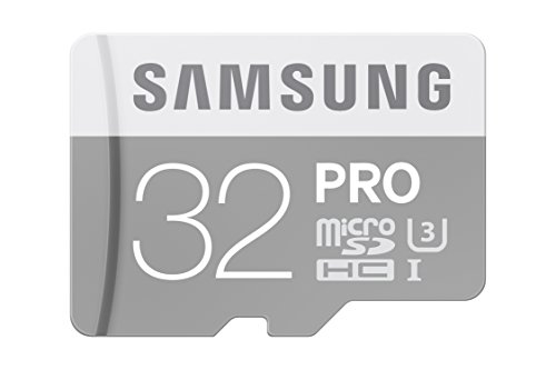 Samsung 32GB PRO Class 10 Micro SDHC Card with Adapter up to 90MB/s (MB-MG32EA/AM)