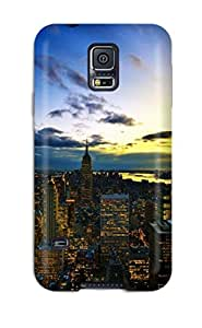 Hot Snap On Hard Case Cover City Protector For Galaxy S5